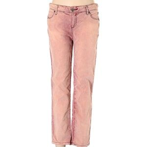 Free People Pink Cords, Low Rise 29W.